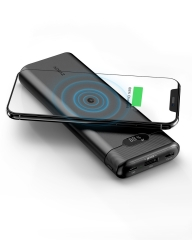 AIDEAZ PowerOrigin Air Wireless Portable Charger 20000mAh, 18W Power Delivery, LCD Display, Battery Bank Fast Charge